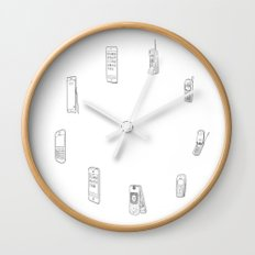 Evolution of Mobile Device Wall Clock