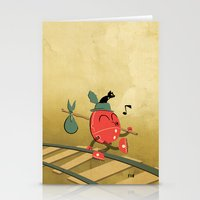 It's A Carefree Hobo Lif… Stationery Cards