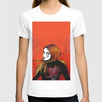 Fire girl Womens Fitted Tee White SMALL