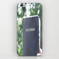Holy Bible w/ bokeh iPhone & iPod Skin