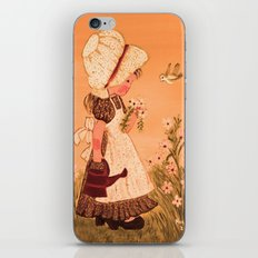 Little girl iPhone & iPod Skin