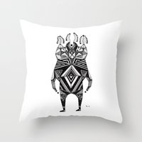 T E Z Z A  Throw Pillow