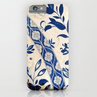 Blue Oriental Vintage Pa… iPhone 6 Slim Case