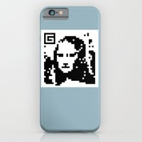 QR- Monalisa iPhone 6 Slim Case