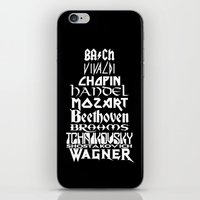 Composers iPhone & iPod Skin