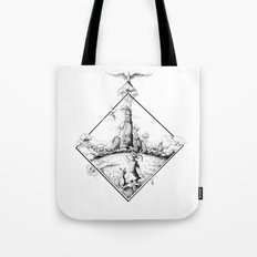 Walking To The Old World Tote Bag
