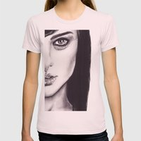 Under Your Bed (Natalie … Womens Fitted Tee Light Pink SMALL