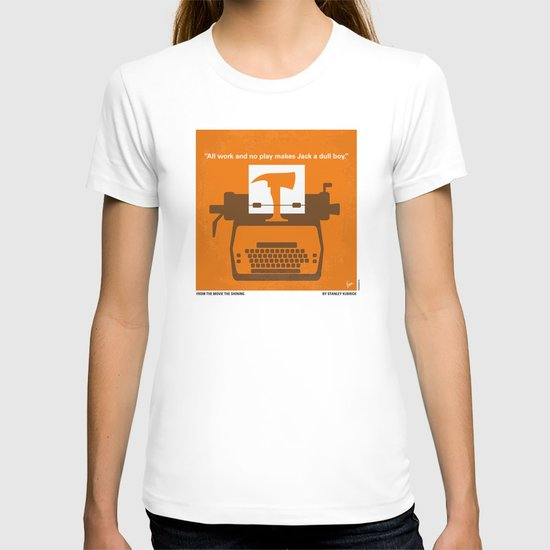 No094 My The Shining minimal movie poster T-shirt