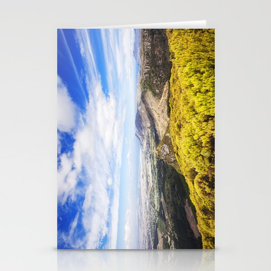 View of Silvermine and False Bay Stationery Card