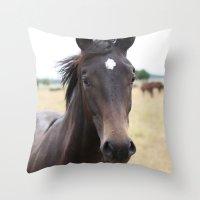 Horse Throw Pillow
