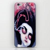 (Below) Melancholy iPhone & iPod Skin