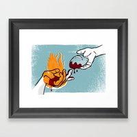 Satan Possesses Judas (b… Framed Art Print