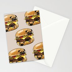 Pugs Burger Stationery Cards