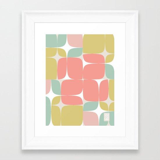 Lilliam Blooms Framed Art Print