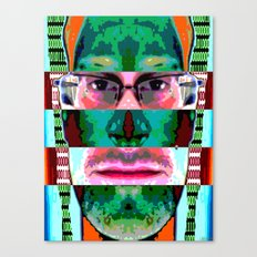 SPY CODE Canvas Print