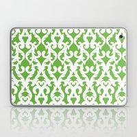 Modern Baroque Green Laptop & iPad Skin