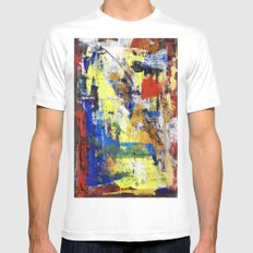 RICHTER SCALE 2 Mens Fitted Tee SMALL White
