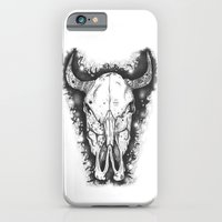 iPhone & iPod Case featuring BULL by Morgan Ralston