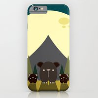 iPhone & iPod Case featuring Beary Nice Night by Steph Dillon