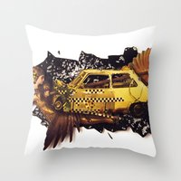 The Big Bang | Collage Throw Pillow