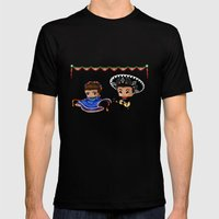 Mexican Chibis Mens Fitted Tee Black SMALL