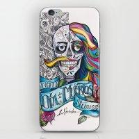 Día de Muertos ANALOG zine iPhone & iPod Skin