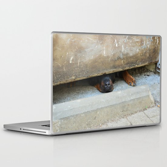 guard dog Laptop & iPad Skin