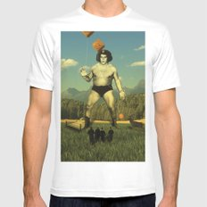 André Waz 'ere Mens Fitted Tee SMALL White