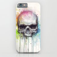 iPhone Cases featuring Skull by Olechka