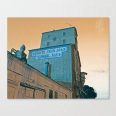 Grain Elevator Canvas Print