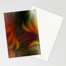 fractal fan -1- Stationery Cards