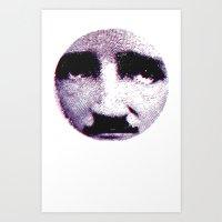 Eddie Looks Sad Art Print