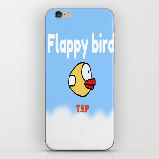Flappy Bird iPhone & iPod Skin