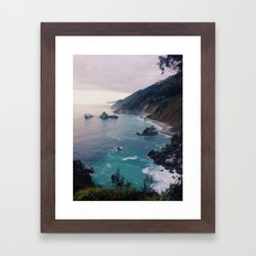 Big Sur Sunset Framed Art Print