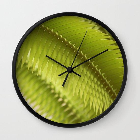 Lemon Grass Wall Clock