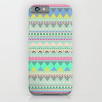 PASTEL AZTEC iPhone 6 Slim Case