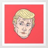 Trumputin Art Print