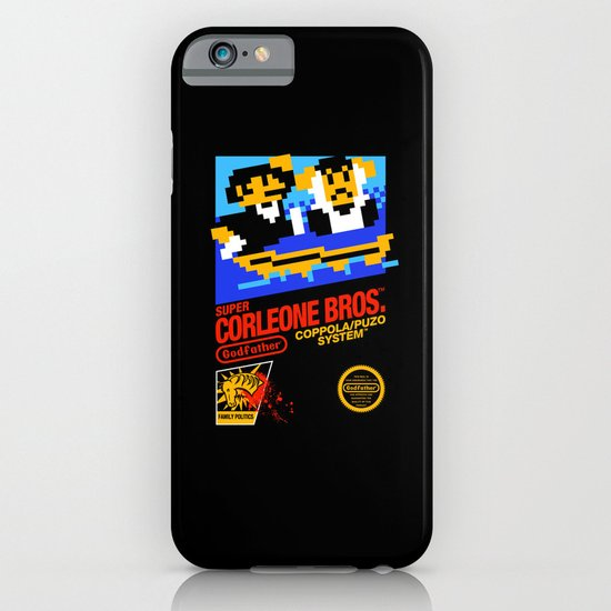 Super Corleone Bros iPhone & iPod Case