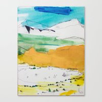 Garden of the Gods / Pike's Peak  Canvas Print
