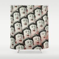 AAAA! II Shower Curtain