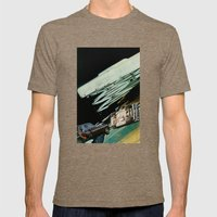 Rollover Mens Fitted Tee Tri-Coffee SMALL