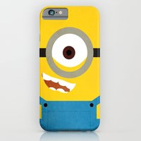 iPhone & iPod Case featuring Simple Heroes - Minion by thinkgabriel