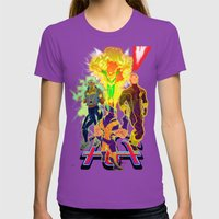 Uncanny X-Men Womens Fitted Tee Ultraviolet SMALL
