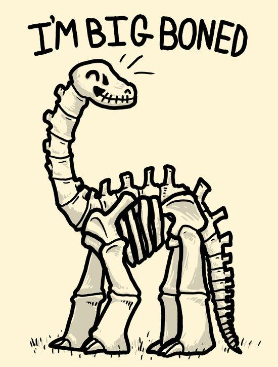 Big Boned Art Print