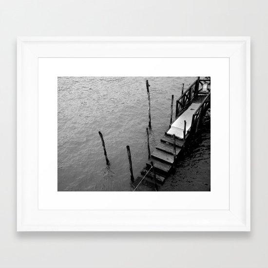 SWAMP VENICE I Framed Art Print