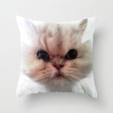 MR. CHEEKS Throw Pillow