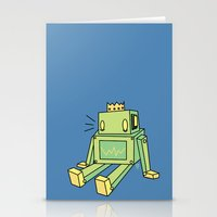 When you fall Stationery Cards