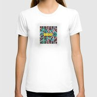 Giggi Knox Womens Fitted Tee White SMALL