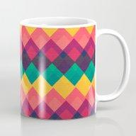 Happy Day Pattern Mug