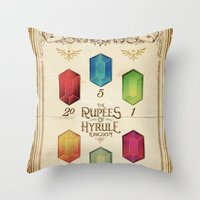 Legend Of Zelda - The R… Throw Pillow